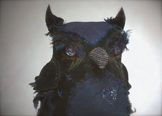Ann Wood's owl.  love this one.  look at the stitching on the beak. xxoo