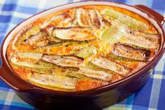 A Rich Zucchini Casserole Without All of the Calories