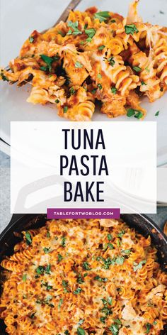 Tuna Pasta Bake - Pantry Ingredients Skillet Tuna Pasta Bake Tuna Pasta Bake - Pantry Ingredients Skillet Tuna Pasta Bake Incredibly easy tuna pasta bake that utilizes everything you already have in your pantry! Canned tuna is the star of this pasta bake! Canned Tuna Recipes, Tuna Casserole Recipes, Baked Pasta Recipes, Seafood Recipes, Vegetarian Recipes, Dinner Recipes, Cooking Recipes, Tuna Casserole Healthy, Healthy Tuna Recipes