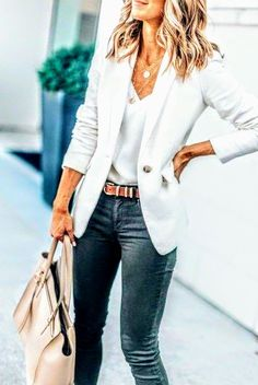 40 Outstanding Casual Outfits To Fall In Love With 40 Outstanding Casua. - 40 Outstanding Casual Outfits To Fall In Love With 40 Outstanding Casual Outfits To Fall I - Outfits Nachstylen, Office Outfits, Fall Outfits, Fashion Outfits, Fashion Ideas, Work Outfits, Fashion 2018, Fashion Purses, Work Dresses