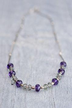Briolette Necklace Swarovski Necklace Crystal Summer Jewelry Elegant Necklace Gift For Her