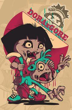 Zombie Spongebob Zombies In 2018 Pinterest Zombie Art Zombie