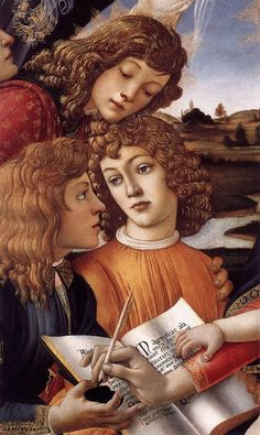 Sandro Botticelli - Madonna of the Magnificat (detail) - WGA02716 - Sandro Botticelli - Wikipedia, the free encyclopedia