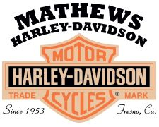 Mathews Harley-Davidson is located in Fresno, CA. Shop our large online inventory.