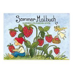 """Der Sommer ist da! Zumindest in dem von Outi Kaden gestalteten Mini-Malbuch """"Sommer"""". https://www.graetz-verlag.de/mini-malbuch-sommer"""