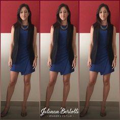 Hoje é dia de fazer Closet Cleaning então é dia de roupa bem confortável! Esse vestido é bem sequinho mas não agarra no corpo. Adoro essa fenda assimétrica (@zara ). O colete é pra dar aquele toque a mais que eu sempre falo por aqui - o poder da terceira peça (@cea_brasil )! Colar @lojasrenner e sandália @sonhodospesoficial !  #julianabertolli #blog #consultoriademoda #moda #fashion #instafashion #consultoriadeestilo #estilo #stylish #style #consultoriadeimagem #imagem  #coloracaopessoal…