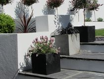 Steps With Planters