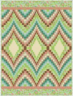 Free pattern day:  Bargello Quilts