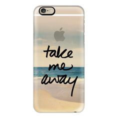 iPhone 6 Plus/6/5/5s/5c Case - Take Me Away Vintage Beach ($40) ❤ liked on Polyvore featuring accessories, tech accessories, phone cases, phone, cases, tech, iphone case, iphone cover case, apple iphone cases and iphone cases