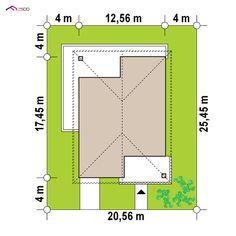 Z443 to wyjątkowy dom z kategorii projekty domów z dachem czterospadowym Beautiful House Plans, Beautiful Homes, Two Bedroom House, Architectural House Plans, Bar Chart, Projects To Try, Floor Plans, House Design, How To Plan