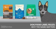 Dog Food Label Rules - a good read to see how the labelling and ingredients are used to make dog food look a lot better than what it is.