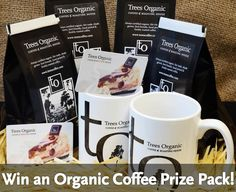 Contest is now closed - WIN a Trees Organic Coffee Prize Pack!   Here's fun news for our Greater Vancouver fans and followers! We're running a Facebook contest to WIN an organic coffee prize pack!  Easy to enter and check out details on this blog post. http://treescoffee.com/blog/2015/11/facebook-contest-win-an-organic-coffee-prize-pack/ Contest ends Nov 20, noon, 2015!