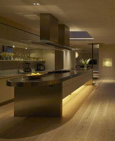 Kitchen Lighting Design by John Cullen Lighting
