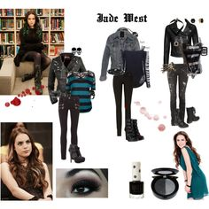 Jade west from victorious my style ❤ in 2019 мода сорванца, Grunge Outfits, Punk Outfits, Casual Outfits, Fashion Outfits, Punk Fashion, Teen Fashion, Jade West Style, Estilo Aria Montgomery, Jade West Victorious