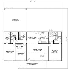 Craftsman Style House Plan Beds Baths Sq Ft Plan