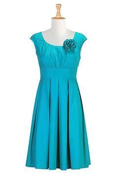#turquoise #blue #bridesmaids #dress #eshakti