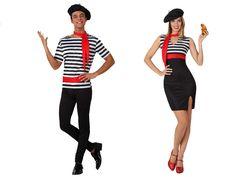 Pareja Disfraces de Franceses #parejas #disfraces #carnaval