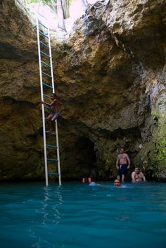 Blue Hole Mineral Spring, Negril, Jamaica