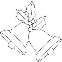 Any Old Craft: Christmas bells and holly digi stamp freebie - - Any Old Craft: Christmas bells and holly digi stamp freebie NATAL Any Old Craft: Weihnachtsglocken und Holly Digi Stempel Werbegeschenk Christmas Crafts For Kids, Felt Christmas, Christmas Colors, Christmas Projects, Holiday Crafts, Christmas Ornaments, Crochet Christmas, Christmas Angels, Merry Christmas