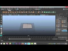 Maya 2016 tutorial : The Modeling Toolkit Part 1 ( Quad Draw ) - YouTube