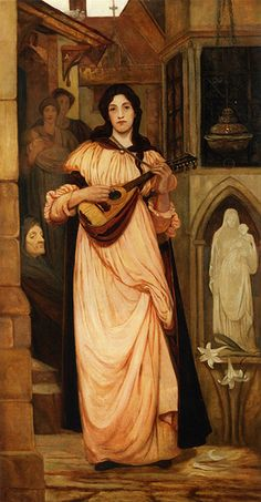 ♪ The Musical Arts ♪ music musician paintings - Kate Elizabeth Bunce | The minstrel