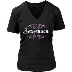 Sassenach Women's V-Neck Tee