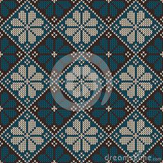 Patrón ornamental punto inconsútil.  Vector illust