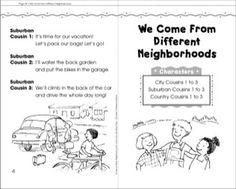 We Come from Different Neighborhoods: Neighborhood Mini-Book Play