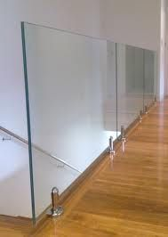 Structural glass balustrade.