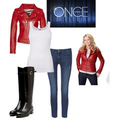 """""""Look Like Emma From Once Upon a Time"""" by jillian66 on Polyvore"""