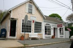 This is the News Shop in Hyannis Mass. JFK used to go here with his children and nieces and newphews to buy candy and get some newspapers to read.