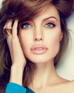 Angelina Jolie. Absolutely gorgeous. #eyes #lips #portrait