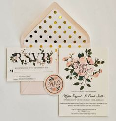 For the Love of Character: Wedding Week Day 3: Invitations! First Snow Fall invitations