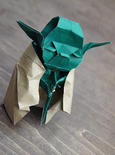 Origami Level Jedi! #starwars