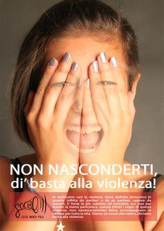 Campagna sociale contro la violenza domestica. Giorgia Giordo, 2013