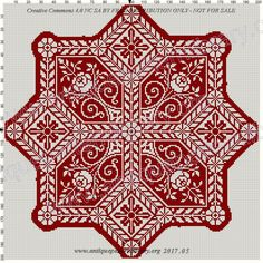 Biscornu Cross Stitch, Cross Stitch Borders, Cross Stitch Charts, Cross Stitch Designs, Cross Stitching, Cross Stitch Patterns, Blackwork Embroidery, Embroidery Patterns Free, Cross Stitch Embroidery