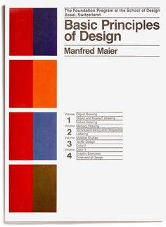Basic Principles of Design  by Counter-Print, via Flickr