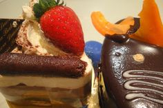 Cakes from Limnos Bakery