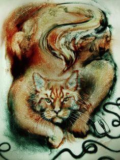Sand Art Drawing by Elena Vedernikova Art Prints For Home, Fine Art Prints, Sand Sculptures, Sand Art, Ginger Cats, Russian Art, Unique Art, Art Drawings, Waves