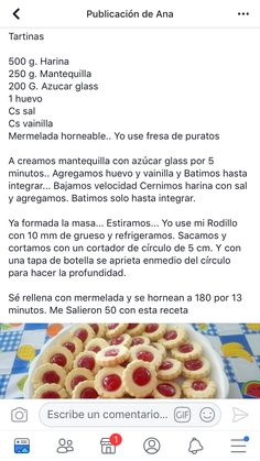 Easy Cake Recipes, Easy Desserts, Sweet Recipes, Cookie Recipes, Dessert Recipes, Banana Oatmeal Muffins, Traditional Mexican Food, Dinosaur Birthday Cakes, Almond Cookies