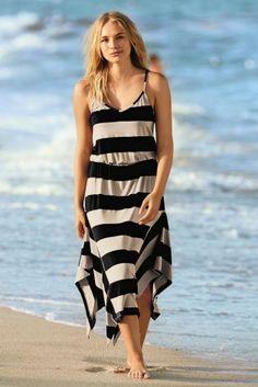 Buy Jersey Stripe Midi Dress from the Next UK online shop