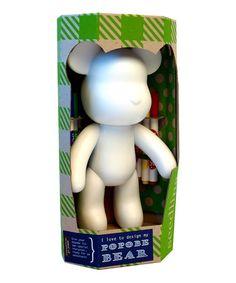 I Love to Design my Popobe Bear! by Seedling on #zulilyUK today! £28 reduced