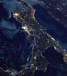 La célèbre botte de l'Italie