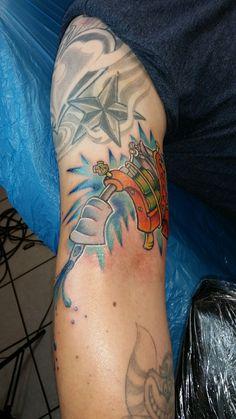 Tattoo machine tattoo