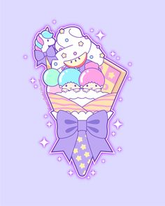 Whimsical tidbits of art, topped with a sprinkle of glitter. My Melody Wallpaper, Sanrio Wallpaper, Kawaii Wallpaper, Cute Kawaii Drawings, Kawaii Cute, Kawaii Style, Adventure Time Finale, Badtz Maru, White Textured Wallpaper