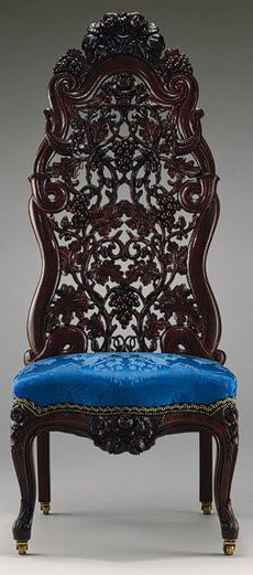 Absolutely Gorgeous Ornate Victorian Chair Furniture Unique Styles Vintage