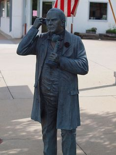 - William McKinley Statue, Presidents Tour, Rapid City, South Dakota - President of the United States of America