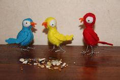 vogeltjes van klei - Google zoeken