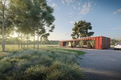 CGI - Australian Shipping Container House on Behance