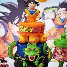 Festa Infantil Dragon Ball Z meninos batizado formatura casamento 32 Birthday, Ball Birthday Parties, Dragon Birthday, Birthday Party Themes, Tarta Dragon Ball, Baby Shower Cakes, Baby Boy Shower, Dragonball Z Cake, Bolo Naruto